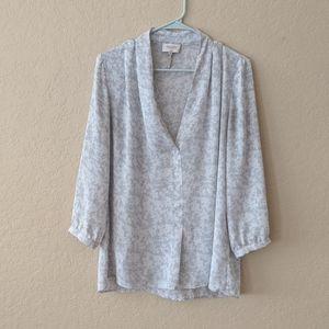 Laundry by Shelli Segal blouse size M
